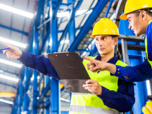 HSE observations and workplace inspections safety
